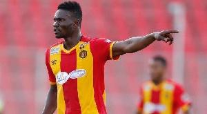 Ghana international Kwame Bonsu