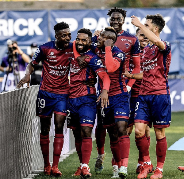 Samed Salis reacts after Clermont Foot shocked French champions Lille