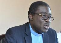 General Secretary of  Christian Council of Ghana, Rev. Dr. Kwabena Opuni Frimpong