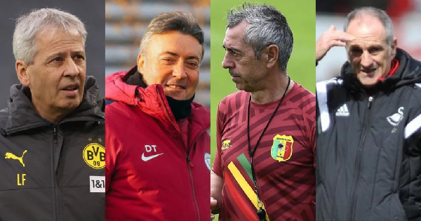 Four top European coaches apply for vacant Ghana coaching post
