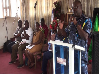 Baffour Ofori-Atta Kena, Senior Freight and Logistics Officer at the Ghana Shippers Authority