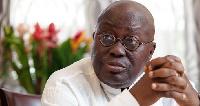 The newly-elected president of Ghana, Nana Addo Dankwa Akufo-Addo