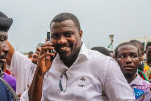 NDC's parliamentary candidate for Ayawaso West Wuogon, John Dumelo
