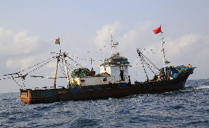 It is estimated that 90% Ghanaian trawl fleet is beneficially owned by Chinese corporations