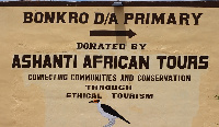 Ashanti African Tours also initiated moves to construct a reception centre