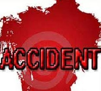The 5 persons died on the spot after a tyre on the vehicle burst and the it somersaulted