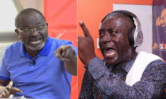 Kennedy Agyapong and Captain Smart
