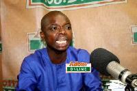 Brong Ahafo Youth Organizer of the NPP, Kwame Baffoe