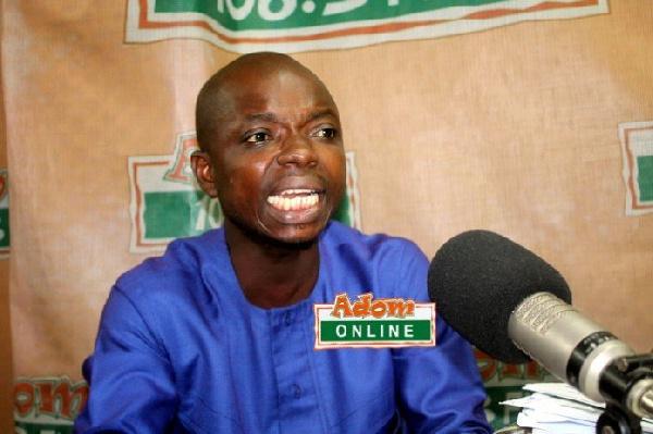 Brong Ahafo Youth Organizer of the NPP, Kwame Baffoe Abronye