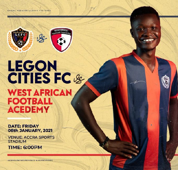 Legon Cities announce ticket prices for WAFA clash