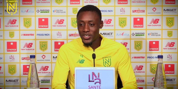 Dennis Appiah has made 19 appearances for Nantes this season