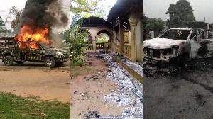 Unidentified gunmen do damage security installations for Akwa Ibom State