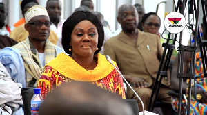 Barbara Oteng-Gyasi, the Minister for Tourism, Arts and Culture