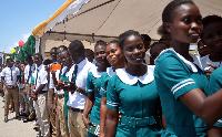 File photo - Ghanaian Nurses