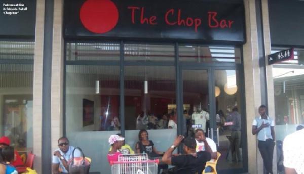 The Chop bar at Achimota Mall