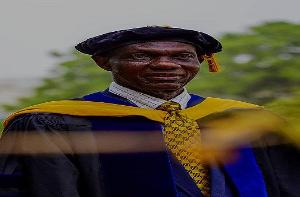 Senior lecturer at the University of Ghana, Dr. J. P. Adjimani