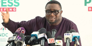 Elvis Afriyie Ankrah, the Director of Elections for the National Democratic Congress