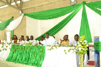 The high-table with management and dignitaries that graced the occasion