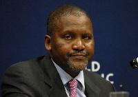 Nigerian businessman, Aliko Dangote