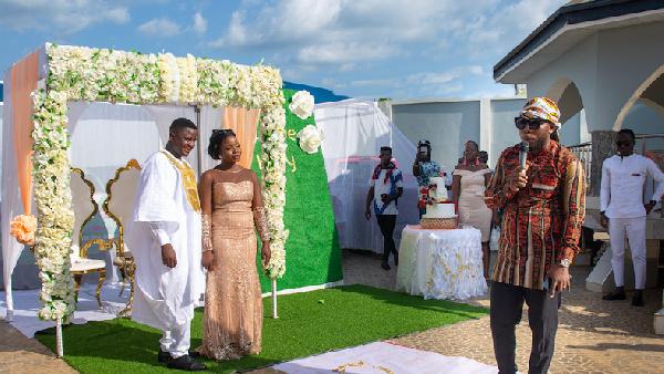 Pulse Ghana\'s David Mawuli ties the knot