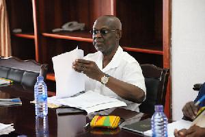 Prof Kwesi Botchwey Meeting