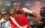 Samuel Takyi carried shoulder high by Coach Ofori-Asare