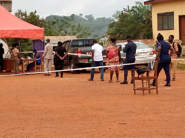 Special Voting ends in Akatsi South without any trouble