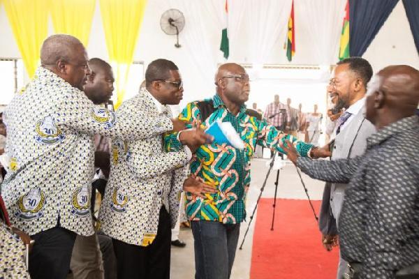 Mahama, Owusu Bempah 'clash' at Assemblies of God Church