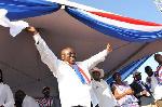 Akufo-Addo mocks Mahama's desire to return to Presidency