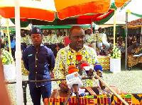 Minister of Transport, Hon. Kwaku Ofori Asiamah