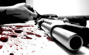 The suspected murderer shot the victim at Obakrowa in the Greater Accra Region