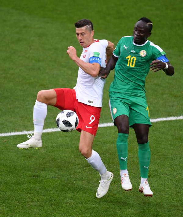 Senegal face Poland this afternoon