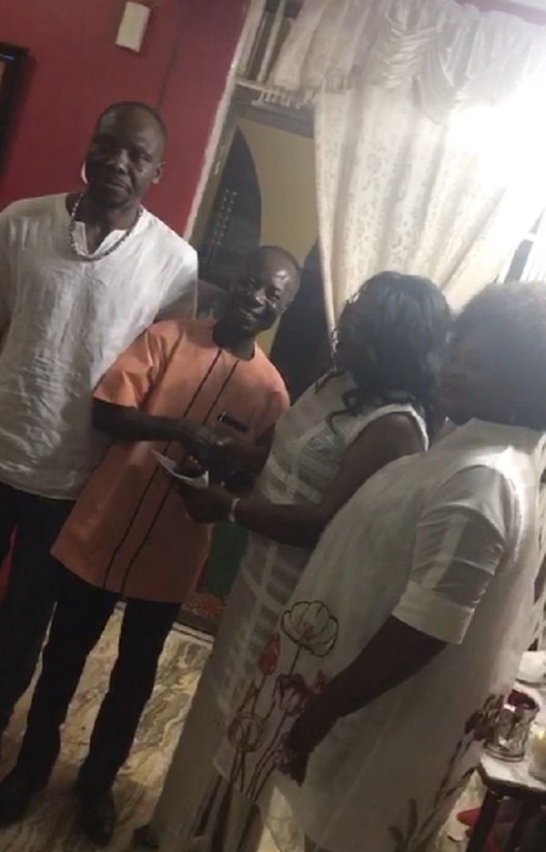 Old students of Fijai surprises UN delegate with a delectable gift