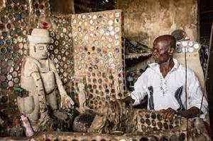 The shrine of Obour Piripi