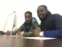 Richard Boakye-Yiadom joined Serbian Club Red Star Belgrade