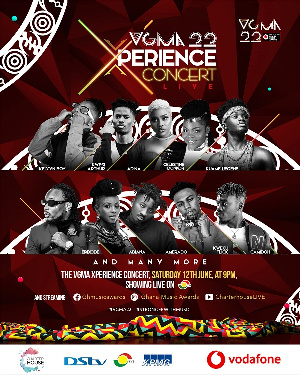 VGMA Xperience Concert to come off on 12th June 2021