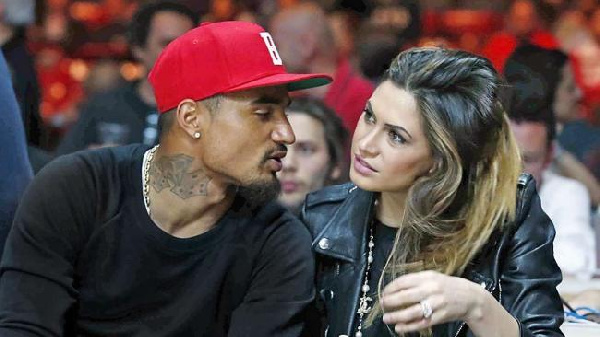 KP Boateng\'s wife slams Fiorentina fans for abuse of 10-year old Inter fan