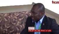 Professor Peter Twumasi, Director General of the National Sports Authority (NSA)