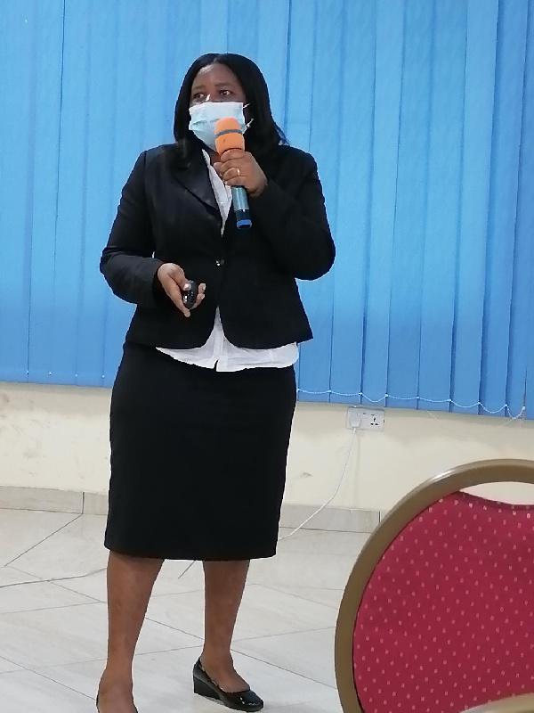 Cynthia Asare-Bediako, Chief Director at MESTI