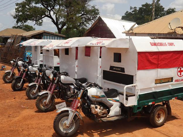 Okoa Project and Virtue Foundation partner communities to manufacture tricycle ambulances