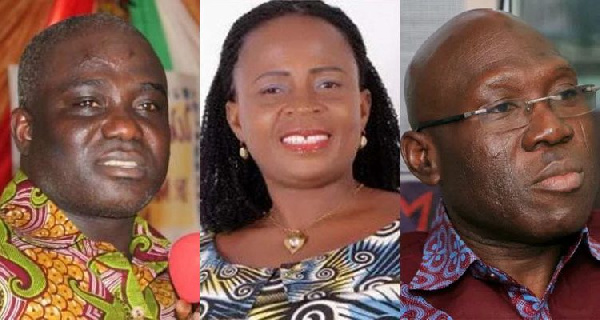 Some NDC MPs are under investigation for taking double salary while in office as Ministers