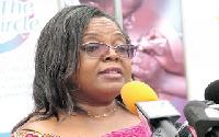 Dr Gloria Quansah, Director General of GHS