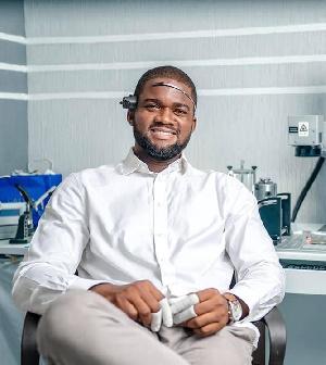 Anthony Mensah Dzamefe, CEO Caveman Watches