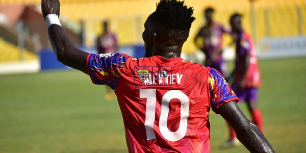 CAF Champions League: Hearts midfielder Nettey opens up on ambitions for WAC showdown