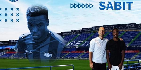 Messi delight for Getafe's young Ghanaian midfielder Sabit