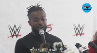 World Wrestling Entertainment champion, Kofi Kingston