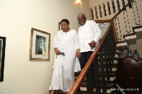 President Akufo-Addo arrived in Ghana at 8 am today