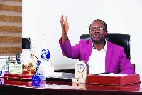 Dr. Joseph Siaw Agyepong, Chief Executive of the Jospong Group