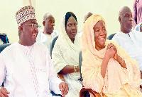 Bawumia and Hajia Ramatu
