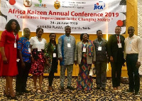 Participants from Ghana at the Africa Kaizen Annual Conference
